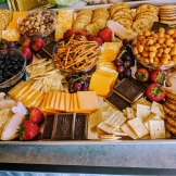 Sweet and salty snack tray